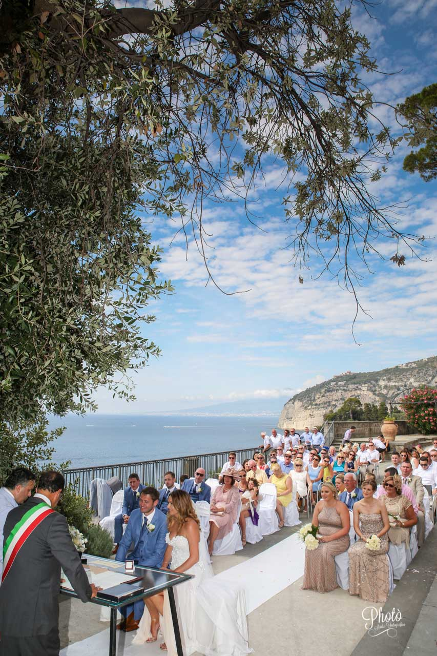 Wedding in Sorrento Villa Fondi Costiera Mr.Raf Photò Studio Fotografico Battipaglia (SA)